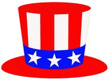 Patriotic Hat Stock Images
