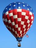 Patriotic Hot Air Balloon royalty free stock image