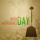 Patriotic indian design. Vector patriotic indian independence day background Royalty Free Illustration