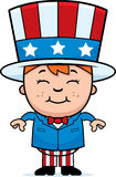 Patriotic Kid vector illustration