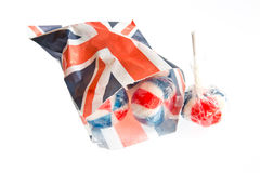 Patriotic Lollies Royalty Free Stock Photo