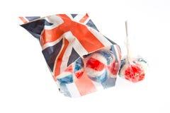 Patriotic Lollies royalty free stock photo