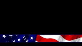 Patriotic lower third. Video of patriotic lower third stock video footage