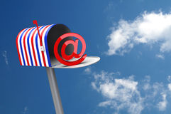 Patriotic Mailbox Stock Photos