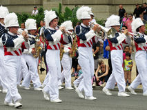 Patriotic Marching Band Stock Image
