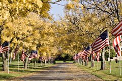 Patriotic Memorial Stock Photos