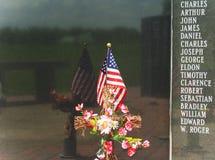 Patriotic Memorial Wall Royalty Free Stock Image