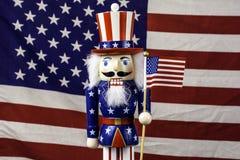 Patriotic nutcraker Royalty Free Stock Photos
