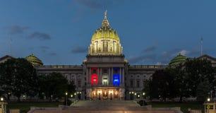 Patriotic Pennsylvania Capital Royalty Free Stock Image