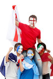 Patriotic people Stock Photo