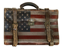 Patriotic Political Briefcase Royalty Free Stock Photography