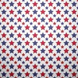 Patriotic red, white and blue geometric seamless Stock Photos