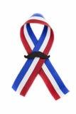 Patriotic ribbon Stock Photos