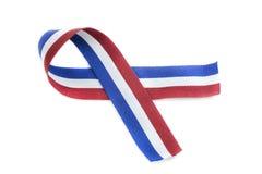 Patriotic ribbon Royalty Free Stock Photos