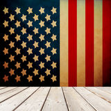 Patriotic Room Royalty Free Stock Images