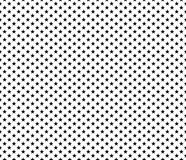 Patriotic seamless pattern black stars on white background. Vector illustration Royalty Free Stock Photography