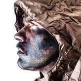 Patriotic soldier Stock Photo