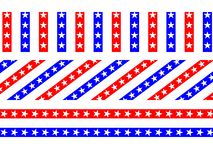 Patriotic Star Backgrounds Royalty Free Stock Photos