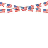 Patriotic symbolic decoration for holiday Usa. National flag Uni Stock Photography