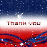 A patriotic thank you