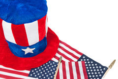 Patriotic theme Royalty Free Stock Photos