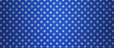 Patriotic US background with stars stock photo