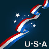 Patriotic USA Background Icon Royalty Free Stock Images