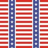 Patriotic USA seamless pattern Royalty Free Stock Photos