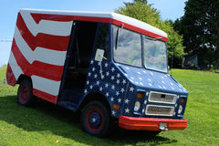Patriotic Van Stock Photos