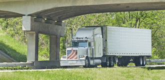 Patriotic 18-Wheeler Stock Photos
