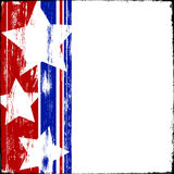 Patriotic Wood Royalty Free Stock Photo