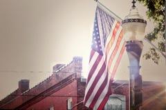 patriotisch stockfoto