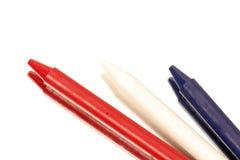 Patriotische Farben Stockbild