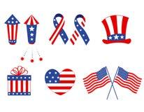 Patriotische Grafiken lizenzfreie abbildung