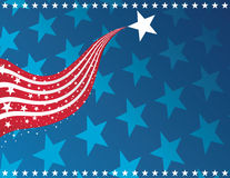 Patriotischer Hintergrund stock abbildung
