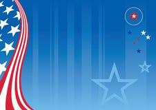 Patriotischer Hintergrund vektor abbildung