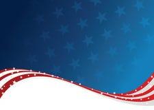 Patriotischer Hintergrund Lizenzfreie Stockfotografie