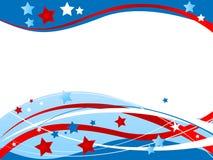 Patriotischer Hintergrund lizenzfreie abbildung