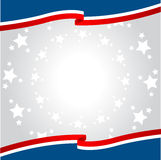 Patriotischer Hintergrund Stockfotografie