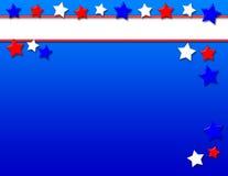 Patriotischer Hintergrund Lizenzfreies Stockfoto