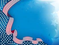 Patriotischer Hintergrund Lizenzfreies Stockbild