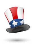 Patriotischer Hut Lizenzfreie Stockfotografie