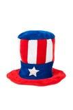 Patriotischer Hut Lizenzfreies Stockbild