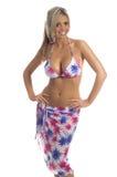 Patriotischer Palme-Bikini Lizenzfreie Stockfotografie