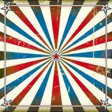 Patriotischer quadratischer Hintergrund Lizenzfreies Stockbild