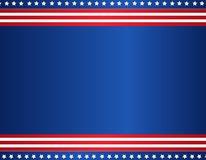 Patriotischer Rand Stockbilder