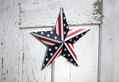 Patriotischer Stern Vereinigter Staaten Lizenzfreie Stockfotos