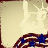 Patriotisches Grunge Lizenzfreies Stockfoto