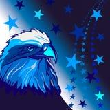 Patriotisches Hintergrunddesign Vereinigter Staaten Stockfotos