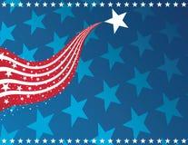 patriotisk bakgrund Arkivfoton